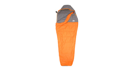 The North Face Aleutian 35/2 Slaapzak long grijs/oranje